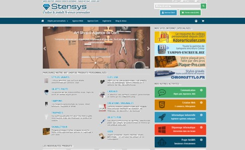 Le site corporate stensys.com